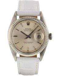 Rolex 1968 Pre-owned Datejust Oyster Perpetual 36mm - Metallic
