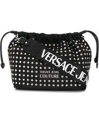 Versace Jeans スタッズ バッグ - ブラック