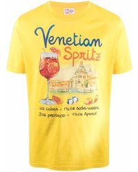 Mc2 Saint Barth - Camiseta Venetian Spritz con estampado gráfico - Lyst