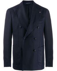 Tagliatore Double-breasted blazer - Bleu