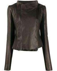 Rick Owens Zip-up Jacket - Black