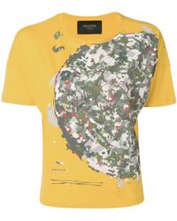 Mr & Mrs Italy - Camouflage Print T-shirt - Lyst