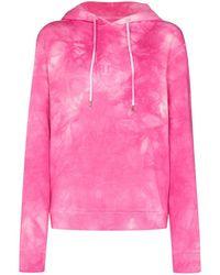 Paco Rabanne Lose Yourself Tie-dye Hoodie - Pink