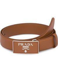 Prada - レザーベルト - Lyst
