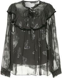 Needle & Thread - Butterfly Top - Lyst