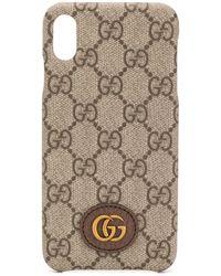 Gucci Coque d'iPhone XS Max GG Ophidia - Multicolore