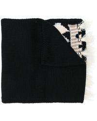 Twin Set フェアアイル スカーフ - ブラック