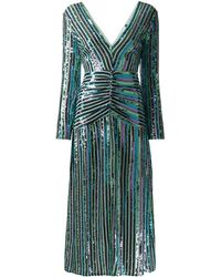 RIXO London - Emmy Sequinned Dress - Lyst