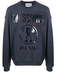 Moschino - Толстовка С Логотипом - Lyst