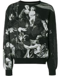 Off-White c/o Virgil Abloh - Caravaggio Sweatshirt - Lyst