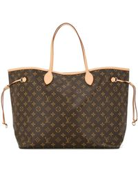 Louis Vuitton Pre-owned Neverfull Gm Monogram Tote - Brown