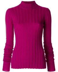 Theory | Ribbed Knit Jumper | Lyst