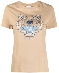 KENZO グラフィックロゴ Tシャツ - マルチカラー