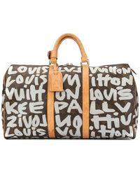 Louis Vuitton Pre-owned Keepall 50 Handtasche - Braun