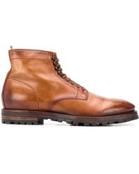 Officine Creative Aspen Ankle Boots - Brown