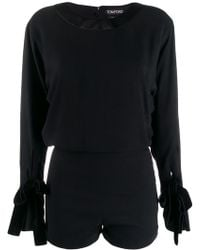 Tom Ford - Fitted Playsuit - Lyst