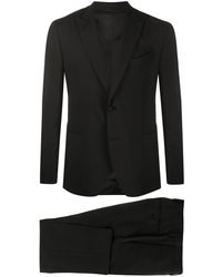 Dell'Oglio Two-piece Dinner Suit - Black