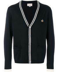 Gucci Vest Met Bloemenprint - Zwart