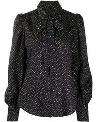 Marc Jacobs ポルカドット シャツ - ブラック