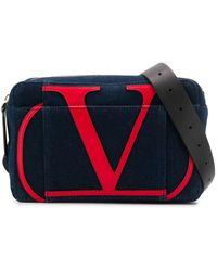 Valentino Garavani Vロゴ ベルトバッグ - マルチカラー