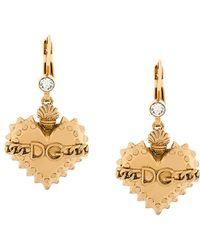 Dolce & Gabbana | Sacred Heart Earrings | Lyst