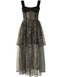 Rasario スパンコール ドレス - ブラック