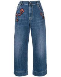 Pinko - 'Brenda' Cropped-Jeans - Lyst