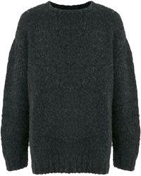 Osklen オーバーサイズ セーター - ブラック