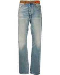 Heron Preston New Reg 5 Pockets Contrast Vintage Blue - ブルー