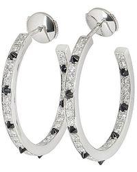 Cartier Pre-owned 18kt Witgouden Oorring - Meerkleurig