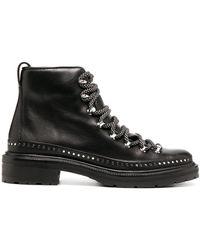 Rag & Bone Ботинки В Стиле Милитари С Заклепками - Черный
