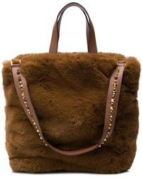 Ash - Fuzzy Shoulder Bag - Lyst
