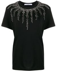 Givenchy - デコラティブネック Tシャツ - Lyst