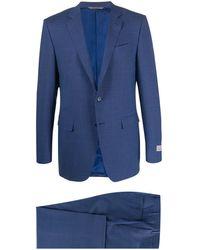 Canali Dreiteiliger Anzug - Blau