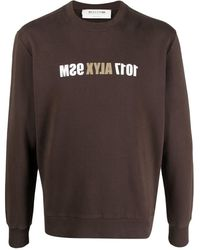 1017 ALYX 9SM ロゴ スウェットシャツ - ブラウン