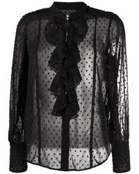 Zadig & Voltaire Декорированная Блузка - Черный