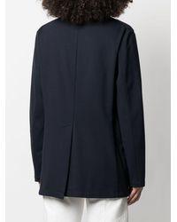 Barena オーバーサイズ ジャケット - ブルー
