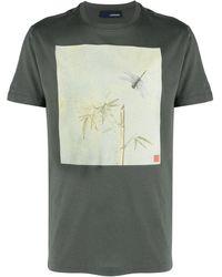 Lardini グラフィック Tシャツ - グリーン