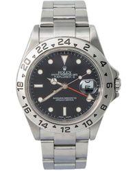 Rolex Наручные Часы Explorer Ii Pre-owned 40 Мм 2003-го Года - Черный
