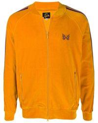 Needles ストライプ ボンバージャケット - オレンジ