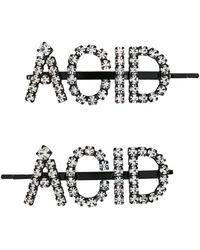 Ashley Williams Acid ヘアクリップ - ブラック