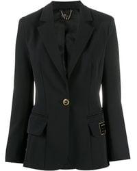 Elisabetta Franchi シングルジャケット - ブラック