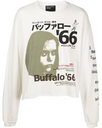 Enfants Riches Deprimes Japanese Buffalo '66-print Long-sleeve Top - Multicolor