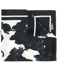 Class Roberto Cavalli - Tiger Print Scarf - Lyst