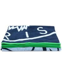 KENZO Tiger Beach Towel - Blue