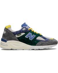 New Balance Sneakers Dore 990 V2 x Aime Leon - Verde