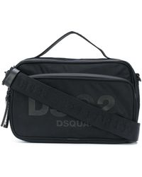 DSquared² ロゴ ハンドバッグ - ブラック