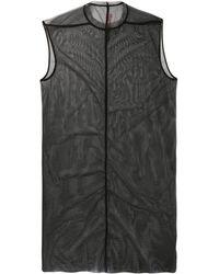Rick Owens Lilies ノースリーブ ドレス - ブラック