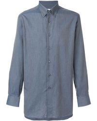 Brioni ボタンダウンシャツ - ブルー