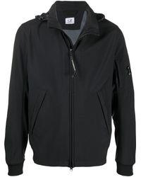 C P Company ロゴ ジップジャケット - ブラック